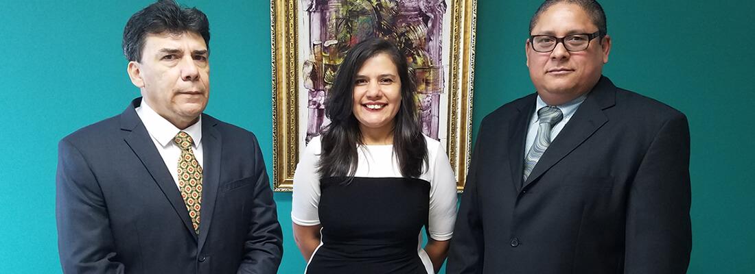 Bufete Canales Girbal y Asociados-fotografía de los 3 socios fundadores