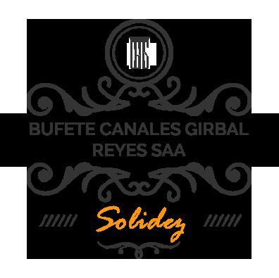 sello de 15 años de servicio-bufete canales girbal